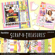 SEWING Collage 12X12 Scrapbooking Kit SCRAP-N-TREASURES Collection New DMD