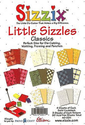 Sizzix, Border Punches & Matting Papers (Classic) 6.5'' x 4.5'' Inch NEW 40-0011
