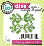 Small Pine Sprigs Set American Made Steel Dies Impression Obsession DIE112-D New