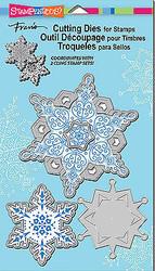 Snowflakes Dies Craft Die Cutiing Die Set Stampendous DCS5069 NEW