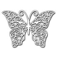 Swirling Wings, Steel Cutting Dies PENNY BLACK - NEW, 51-137