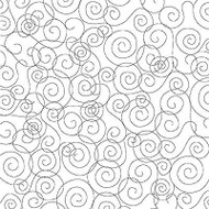 Swirls Cover A Card Background Unmounted Rubber Stamp Impression Obsession New