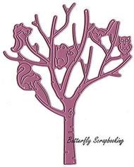Tree & Criters Set American made Steel Dies by Cheery Lynn Designs DIE B370 New