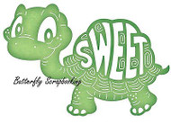 TURTLE SWEET Turtle Die Steel Die Cutting Die CHEERY LYNN DESIGNS B563 New