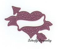 Valentines Day Heart & Arrow, Steel Cutting Dies CHEERY LYNN DESIGNS - NEW, B530