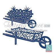 WHEELBARROWS Set DIES Craft Die Cutting Die Tattered Lace Dies D403 New