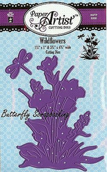 Wildflowes Dragonfly Set Craft Die Cutting Dies Hot Off The Press Dies 5330 New