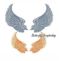 Wings (Steampunk Series) Steel Die Cutting Dies CHEERY LYNN DESIGNS B359 New
