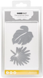ALOHA PALM LEAF LEAVES 2 Die Cutting Dies Kaisercraft Decorative Dies DD315 NEW