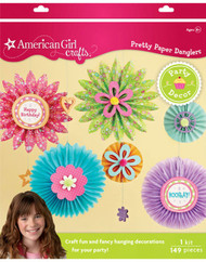 AMERICAN GIRL Pretty Paper Danglers KIT EK Sucess New