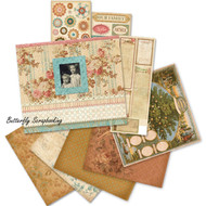 ANCESTRY Heritage 8.5 x 8.5 Scrapbooking Album Kit Family Tree K&Company NEW