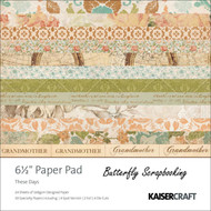 Ancestry These Days Collection 6.5 in Paper Pad Scrapbooking Kit Kaisercraft NEW