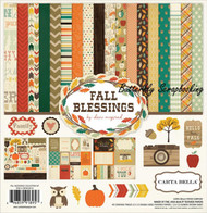 AUTUMN FALL BLESSINGS 12X12 Scrapbooking Kit Carta Bella Paper Co CBFB43016 NEW