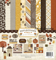 Autumn Fall Reflections Collection 12X12 Scrapbooking Kit Echo Park Paper Co NEW
