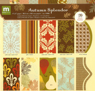 AUTUMN SPLENDOR Making Memories 8x8 Scrapbook Paper Pack 20 Papers 32905 NEW