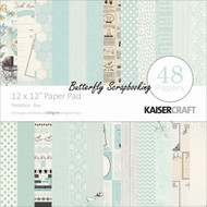 BABY BOY Peekaboo 12x12 Scrapbooking Paper Pad 48 Sheets Kaisercraft PP212  NEW