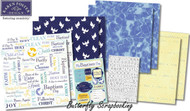 Baptized Purify & Cleanse 12X12 Scrapbooking Kit Batism Day Karen Foster NEW