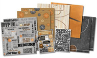 BASKETBALL Champ Sports 12X12 Scrapbooking Kit Karen Foster 20535 NEW