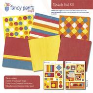 BEACH HUT Collection Kit 12X12 Scrapbooking Kit FANCY PANTS Designs New