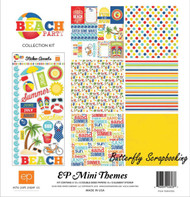 BEACH PARTY Collection Kit 12X12 Scrapbooking Kit Echo Park Paper NEW