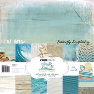 BEACH Sandy Toe Collection 12X12 Scrapbooking Kit Kaisercraft Paper Crafting NEW