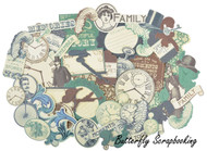BETSY'S COUTURE Collectables Collection Scrapbooking 50 Die Cuts Kaisercraft NEW