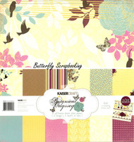 Botanical Odyssey Collection 12X12 Scrapbooking Kit Kaisercraft Paper NEW