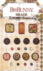 Brads PROVENCE Collection Scrapbooking BRADS Pack BoBunny Bo Bunny NEW