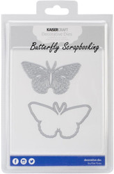 BUTTERFLY SET 2 Die Cutting Dies Kaisercraft Decorative Dies DD503 NEW