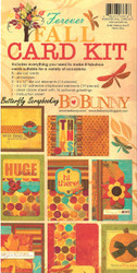 CARD Making Kit BoBunny Forever FALL Everything Inculded to Create 8 Cards NEW