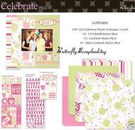 CELEBRATE PARTY 12X12 Scrapbooking Kit Paper Studio NEW