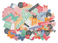 CHASE RAINBOWS Collection Scrapbooking 50 Die Cuts Collectables Kaisercraft NEW