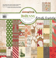 Christmas Collage Collection Pack 12x12 Scrapbooking Kit BoBunny 16616477 New