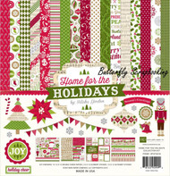 CHRISTMAS Collection Kit 12X12 Scrapbooking Kit Echo Park Paper Co HFH73016 NEW