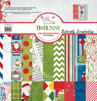 Christmas Elf Magic Collection Pack Bobunny 12x12 Scrapbooking Kit Bo Bunny New