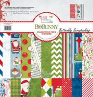 Christmas Elf Magic Collection Pack Bobunny 12x12 Scrapbooking Kit Bo Bunny New