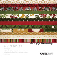 CHRISTMAS HOLY NI Collection 6.5 inch Paper Pad Scrapbooking Kit Kaisercraft NEW