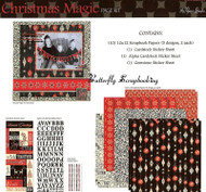 CHRISTMAS MAGIC 12X12 Scrapbooking Kit The Paper Studio NEW