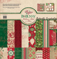 Christmas Rejoice Collection Pack Bobunny 12x12 Scrapbooking Kit Bo Bunny New
