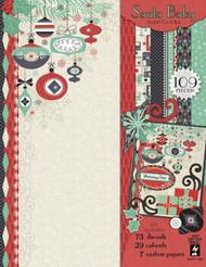 CHRISTMAS Santa Artful Card Making Kit Paper Crafting HOT OFF THE PRESS 7284 NEW