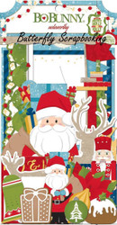 CHRISTMAS SANTA Collection Scrapbooking Die Cuts Noteworthy BoBunny 18413079 NEW