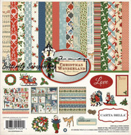 CHRISTMAS WONDERLAND 12X12 Scrapbooking Collection Kit Carta Bella CBCW46016 NEW
