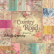 Country Road 12X12 Scrapbooking Paper Pad 80 Sheets Paper Studio 295725 NEW