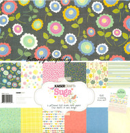 Cute Suga Pop Collection 12X12 Scrapbooking Kit Kaisercraft Paper Pack NEW