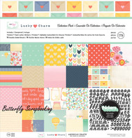 Dear Lizzy Lucky Charm Collection 12X12 Scrapbooking Kit American Crafts New