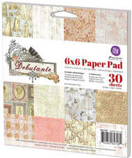 DEBUTANTE Collection Scrapbooking 6x6 inch Paper Pad PRIMA Inc # 847289 NEW