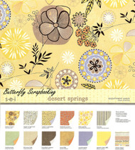 Desert Springs Collection Pack 12X12 Scrapbooking Kit 24 Paper Sheets NEW