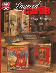 Design Originals - Layered Cards! Idea & Instruction Book - NEW #5234