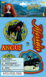 Disney Brave Angus & Merida 3D Stickers by EK Success 59-80085 New