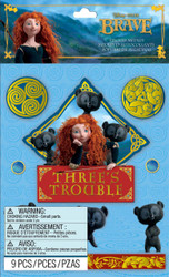 Disney Brave Three's Trouble 3D Stickers by EK Success New